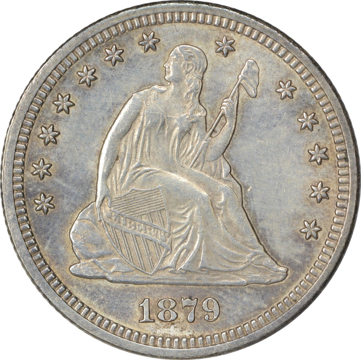 Liberty Seated Silver Quarters