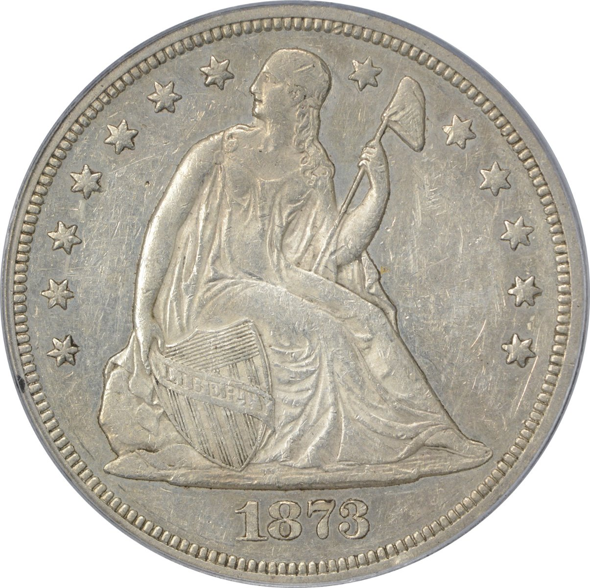 Liberty Seated Silver Dollars