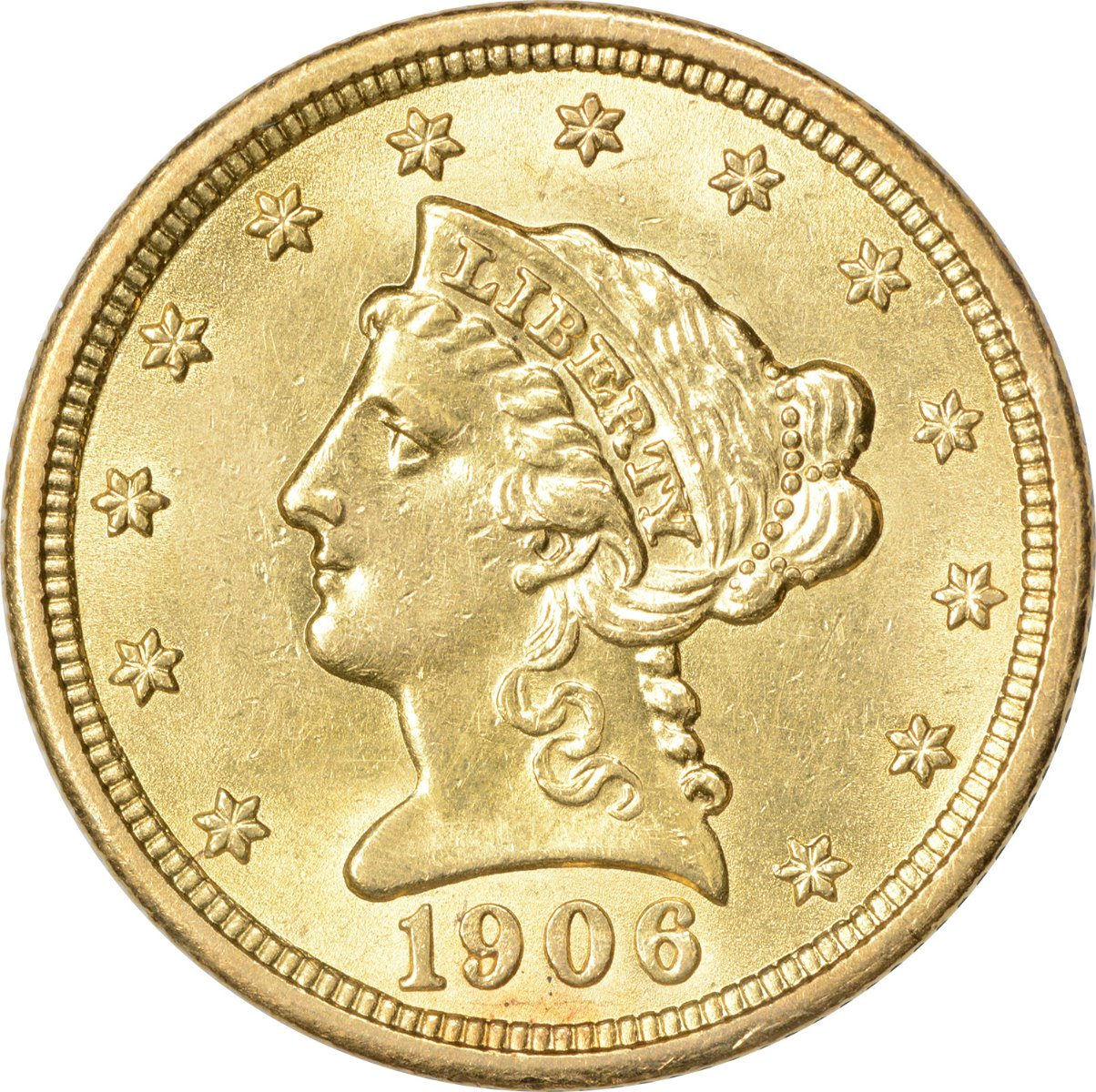 Two and a Half Dollar Gold