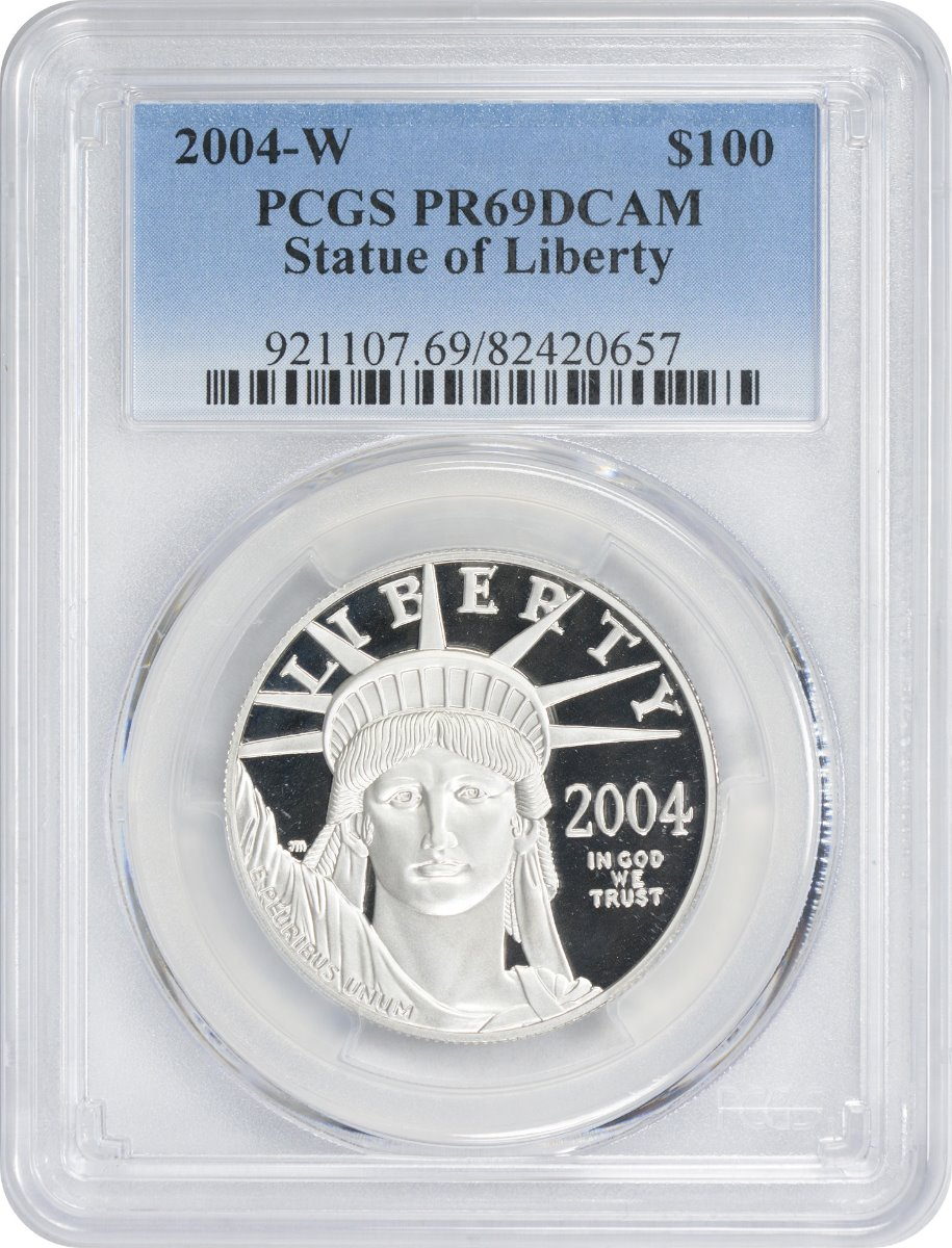 American Platinum Eagles